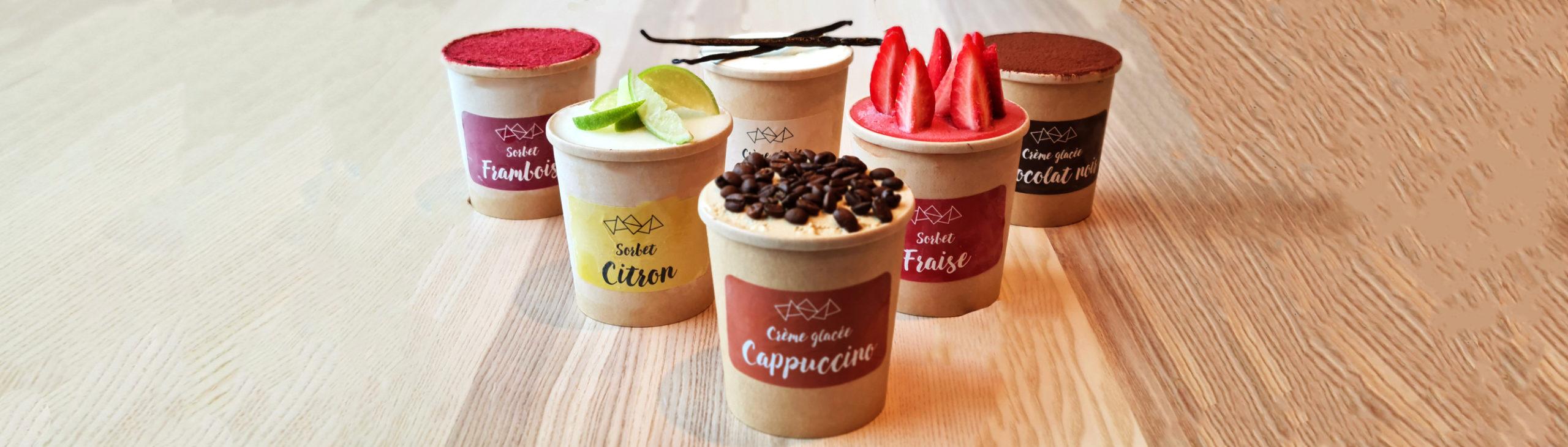 Crèmes glacées & Sorbets